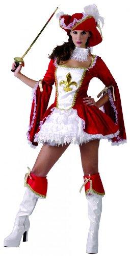 Generique - Musketier-Kostüm für Damen S
