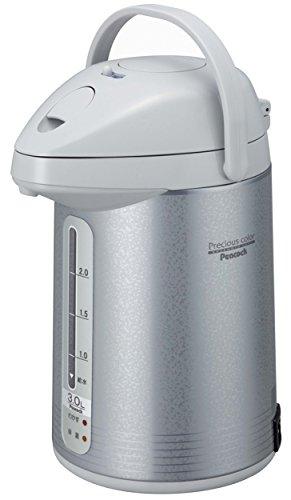 ピーコック 電気保温エアーポット(非沸とうタイプ) 3.0L サテングレー WXP-30(HS)