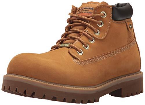 Skechers Men's Sergeants-Verdict Fashion Boot, WTG, 8.5 Medium US