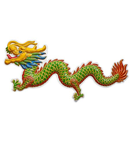 3D ORIENTAL DRAGON 100x42cm Decoration for Chinese Japanese Thai Vietnamese Party