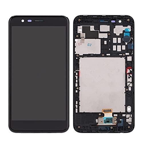 MPGIO Fit for LG K10 K10 + K10α 2018 Pantalla con ensamblaje de Panel digitalizador de Pantalla táctil con reemplazo de Marco Pantalla LCD Partstouch(Color:LCD with Frame)