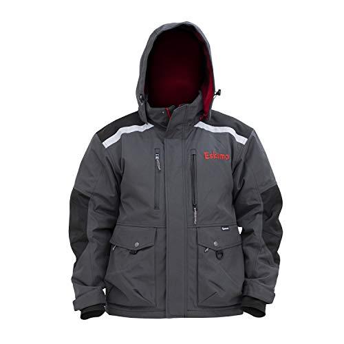 Eskimo Herren Jacke mit Roughneck, Grau, Größe XL