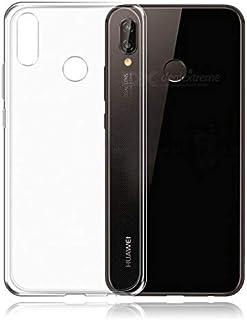 جراب لهاتف Huawei nova 3 غطاء من السيليكون الخلفي الشفاف فائق النحافة TPU كولومبيا بلو