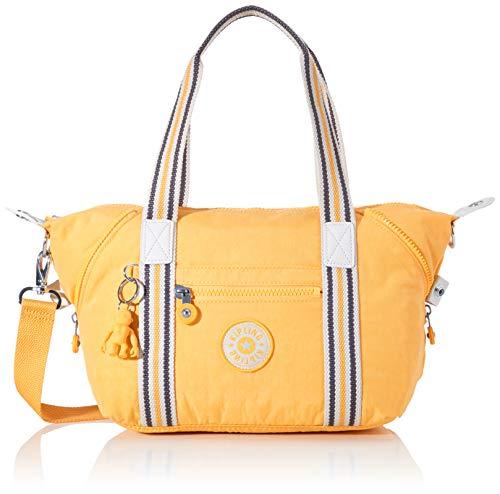 Kipling Damen ART MINI Taschen mit Tragegriff, Gelb (Vivid Yellow), Einheitsgröße