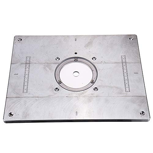 EsportsMJJ 235x300x8mm Aluminium Router Tafel Insert Plaat voor Houtbewerking Graveren Machine