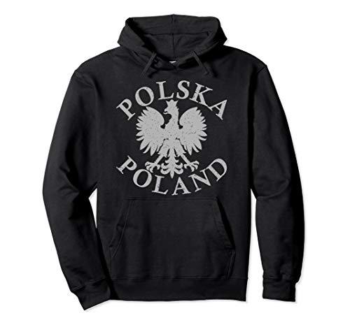 Polska Poland Eagle Pullover Hoodie