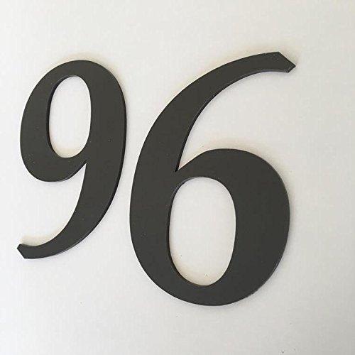ServeWell Mocha Brown Matt, Platte afwerking, Huisnummers - Boek 30 cm BRON