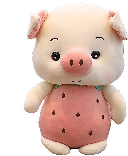 RSBCSHI Plüschspielzeugschweinpuppe und ausgestopfte Kleinkind ausgestopfte Puppe, Plüschpuppe, für Kinder schlafende Kumpel gefüllte Tier Kinder Geburtstage Geschenke, 20-50 cm