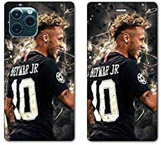 RV Leather flip case for iPhone 11 Pro Max (6,5) Neymar Noir