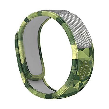 PARA'KITO Mosquito Insect & Bug Repellent Wristband - Waterproof, Outdoor Pest Repeller Bracelet w/ Natural Essential Oils (Adventure)