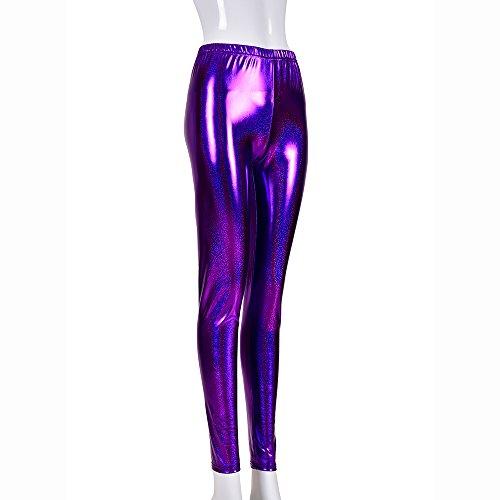 PVC Body Reale lucido PVC Catsuit con foro Gamba Clubwear bagnato Taglia M