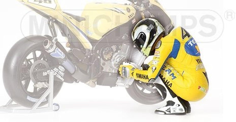 Minichamps 312060046 - Figurine Sitting - Valentino Rossi, Moto GP, Maßstab  1 12 B004RXVXM0 Neue Sorten werden eingeführt  | Neueste Technologie