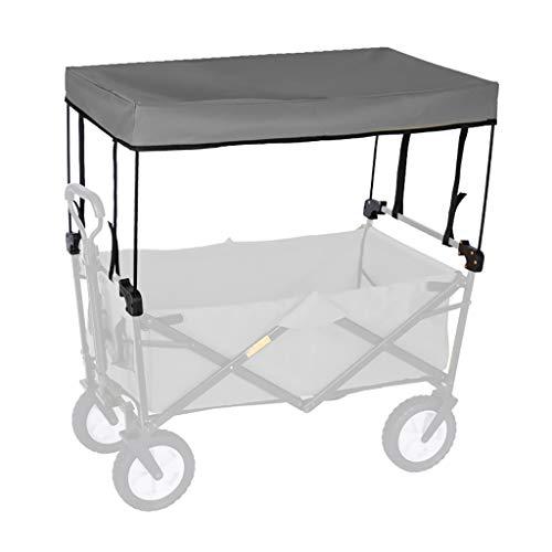 GWXTC Faltbarer Bollerwagen Folding Outdoor-Hand Push tragbare Trolley Cart Zubehör - Markise Baldachin (Color : C)