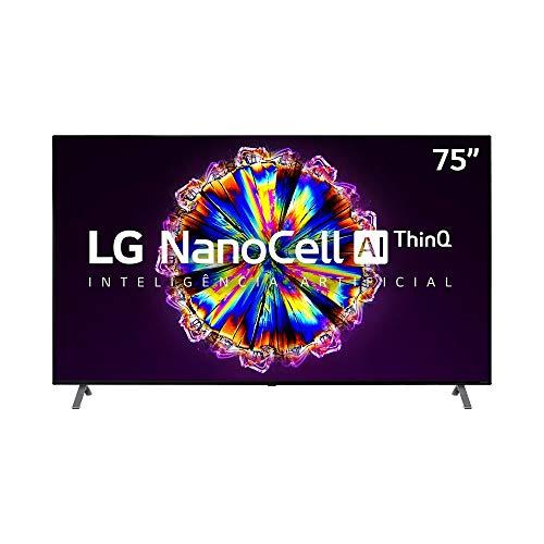 Smart TV 4K LG LED 75 IPS NanoCell Wi-Fi - 75NANO90SNA