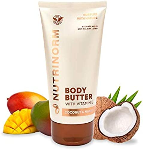 Nutrinorm Body Butter Dry Skin Enriched with Oleic Acid Stearic acid and Palmitic acid