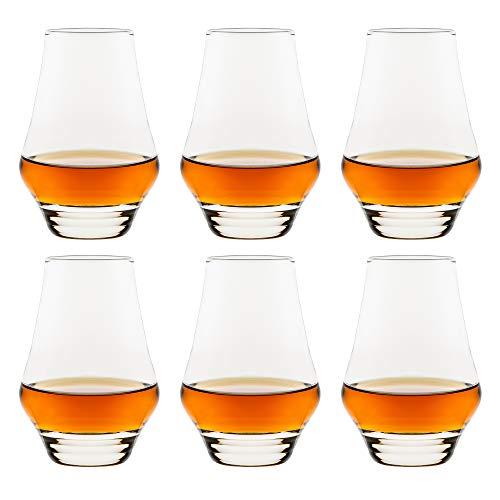 Libbey Bicchiere da grappa Arôme – 180 ml / 18 cl – 6 pezzi – Lavabile in lavastoviglie