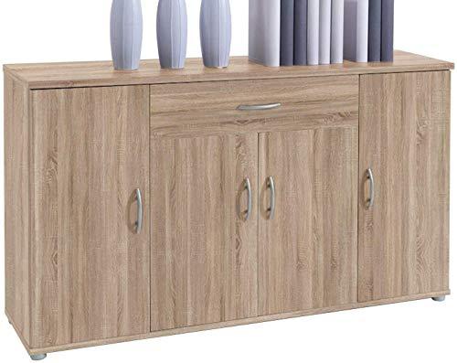 Mahlzeit Seite Schränke, Schubladen, modern, vier Türen, drei Regale, Schubladen 1,118X70厘米X30