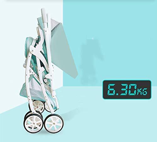 Yanzz Bewegliches leichtes Kinderwagen Folding Buggy Pram Kind Regenschirm Auto-Kinderwagen-Reiseflugzeug Kinderwagen Rollstuhl 0~3Y dsfhsfd