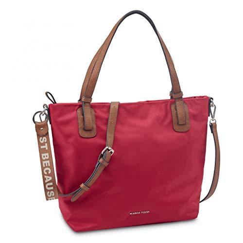 MARCO TOZZI Women's 2-2-61028-26 Handbag, Red Comb, Normal