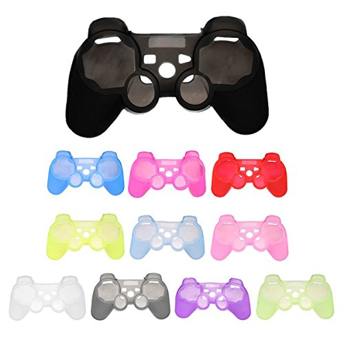 GOZAR Siliconen beschermhoes voor Sony Play Station 3 PS3 Controller