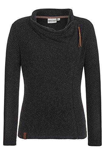 Naketano Damen Sweater Mausischmausi V Zip Hoodie