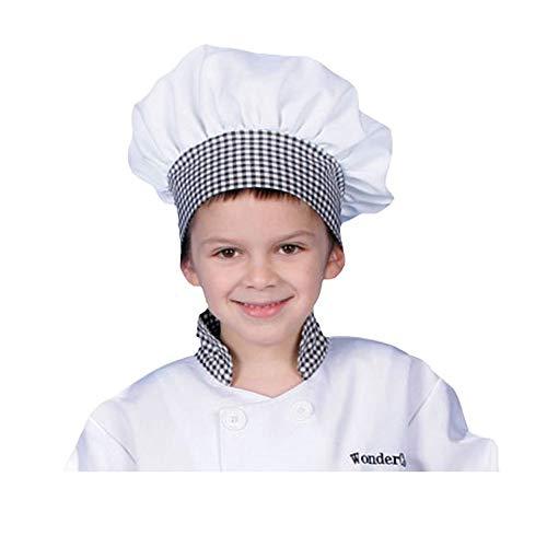 Dress Up America Sombrero de Cocinero de algodón Azul para niños