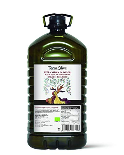 TerraOlive - Aceite de Oliva Virgen Extra (AOVE) Ecológico - 5L