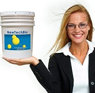 NT-MAX Super Shock Septic and Cesspool Restoration Treatment - 5 Gallon Super Sludge Digester Completely Restores Failed Leach Fields, Cesspools, Sand Mounds and all other Septic Designs. Over 600 Trillion Bacteria and Enzymes per Treatment.