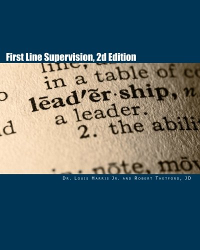 First Line Supervision, 2d Edition