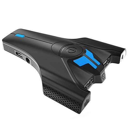 Queen.Y Adaptador Convertidor de Teclado Y Ratón para Juegos Convertidor de Adaptador de Controlador de Ratón con Auriculares de 3 5 Mm para Ps4 Ps4 Slim/Pro Xbox One