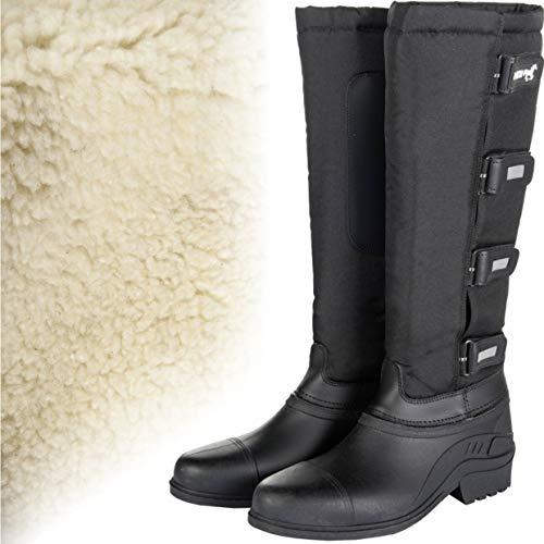 HKM Erwachsene Hose Winterthermostiefel -Robusta-9100 schwarz36, 9100 schwarz, 36, HKM 4057052089466