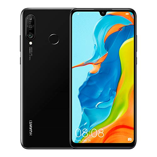 "Huawei P30 Lite New Edition Midnight Black 6.15"" 6gb/256gb Dual Sim"