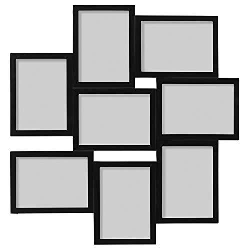 IKEA Växbo - marco Collage para 8 fotos, blanco -
