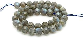 AAA Naturales 1 de piedras preciosas perlas Blue Fire Strand Labradorita para hacer la joyería | 8 mm granos redondos Labr...