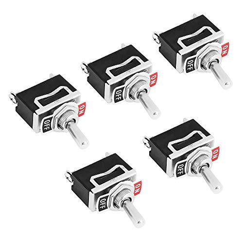 5 Stück Kippschalter Schalter Wippschalter SPST 2-Polig EIN/AUS 12V 24V 220V 230V