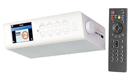 VR-Radio Internet Küchenradio: WLAN-Küchen-Internetradio mit Wecker, USB-Ladestation, 8,1-cm-Display (Internetradio Küchenradio)