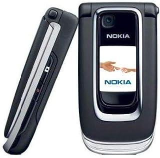 هاتف نوكيا 6131 غير مقفل مع كاميرا، مشغل الوسائط المتعددة، الإصدار العالمي MicroSD (أسود). 6131