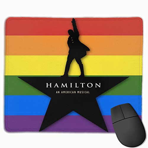 Hamilton Musical Mousepad Mouse Pad Mouse Mat Office Gaming Laptop Pc Mouse Mat for Game Room 9.8 X 11.8 Inch