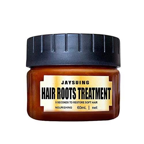Professionel Haarspülungen Haarmaske, Hukz Advanced Molecular Hair Roots Treatment Hair Conditioner, 5 Sekunden um weiches Haar Wiederherzustellen (Mehrfarbig)