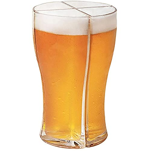 YFQX, Copas de Vino, Gafas de Cerveza, Copas de Vino de Cuatro en uno, Copa de Vino acrílico, para Hijo, Nieto, Sobrino y Novio, etc.-M