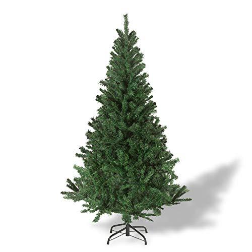 Julido Weihnachtsbaum Kunstbaum künstlicher Baum Tannenbaum Dekobaum Christbaum Grün mit Ständer 120cm 260 Spitzen