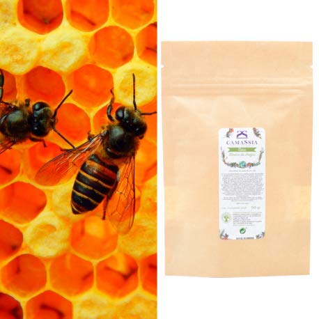 Cera blanca de abejas Cera alba - 200gr - 200gr