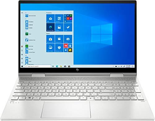 2020 Newest HP Envy 2-in-1 15.6' IPS FHD Touch Screen Laptop, Intel 11th Gen i5-1135G7, 16GB DDR4 RAM, 256GB SSD, Intel iRIS Xe Graphics, Backlit Keyboard, Bundle Woov Sleeve, Windows 10, Silver