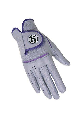 HJ Glove Women's Solite Golf Glove, Lavender, Medium, Right Hand