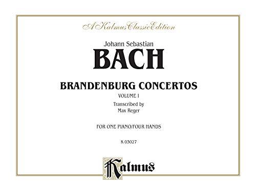 Brandenburg Concertos, Vol 1 (Kalmus Edition)