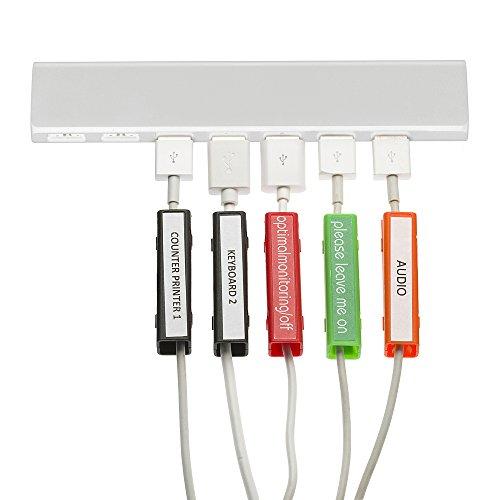 Profi-Pack, 40 Große & 40 kleine Etiketten in Multi Farben, Aufkleber Bogen mit Schablone und Stift