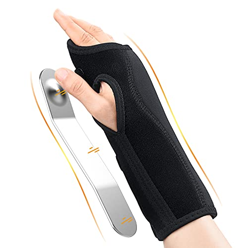 Updated 2021 Wrist Brace for Carpal Tunnel, Night Sleep Wrist Support Brace, Wrist Splint, Great for Wrist Pain, Sprain, Sports Injuries, Joint Instability, Suitable for Left and Right Hands
