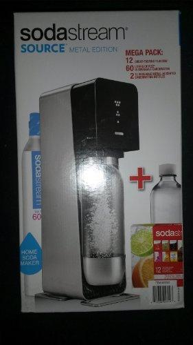 Sodastream Source Metal Edition - Black - Plus...