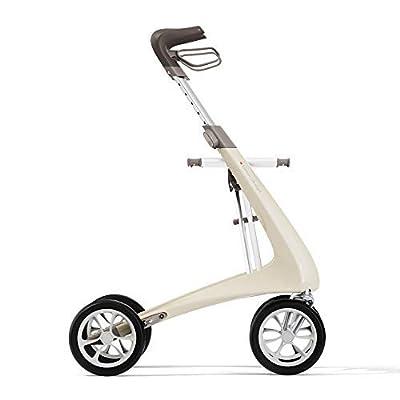 byACRE Andador ultraligero de carbono   solo 4,8 kg   para interiores y exteriores   plegable y fácil de poner en el maletero y llevar en viajes   5 años de garantía