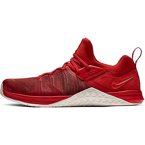 Nike Herren Metcon Flyknit 3 Fitnessschuhe, Mehrfarbig (Mystic Red/Sail/Red Orbit 000), 43 EU